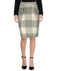Giuliano Fujiwara - Knee Length Skirt - Lyst