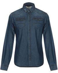 Armani Jeans - Denim Shirt - Lyst