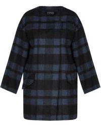 Boutique De La Femme - Overcoat - Lyst