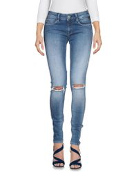 Replay - Denim Trousers - Lyst
