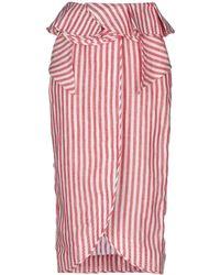 Johanna Ortiz - 3/4 Length Skirt - Lyst