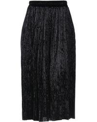 No Secrets - 3/4 Length Skirt - Lyst