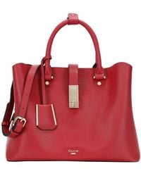 Dune - Diella Red Tote Bag With Detachable Strap - Lyst