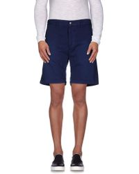 People - (+) People Bermuda Shorts - Lyst