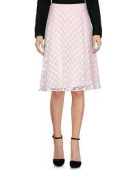 BOSS Black - Knee Length Skirt - Lyst