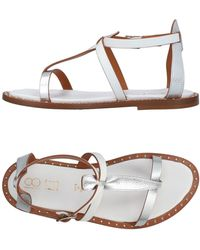 18 Kt | Toe Strap Sandals | Lyst
