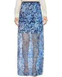 Elie Tahari - Long Skirt - Lyst