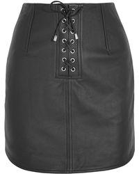 Topshop Unique - Mini Skirt - Lyst