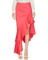 5724f42d0c9fae Alexis Kali Tiered Appliquéd Cotton-blend Poplin Maxi Skirt in Blue ...