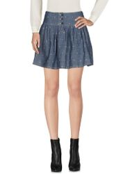Denim & Supply Ralph Lauren - Mini Skirt - Lyst