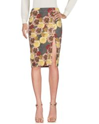 Attic And Barn - Knee Length Skirt - Lyst