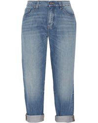 Victoria, Victoria Beckham - Pantaloni jeans - Lyst