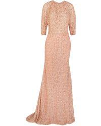 Lela Rose - Long Dress - Lyst