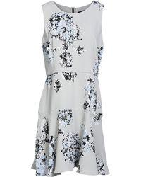 Armani Exchange - Short Dress - Lyst