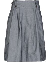 TRUE NYC - Denim Skirt - Lyst