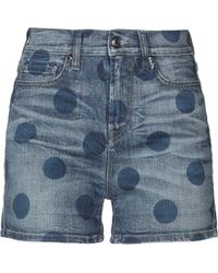 Roy Rogers - Denim Shorts - Lyst