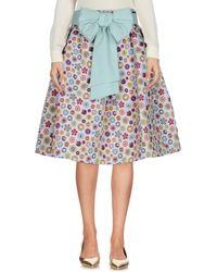 Mariagrazia Panizzi - Knee Length Skirt - Lyst