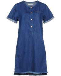 Lee Jeans - Short Dress - Lyst