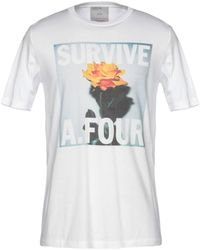 A. FOUR LABS - T-shirt - Lyst