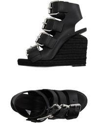 ae6e70e9555 Lyst - Women s Alexander Wang Platform heels On Sale