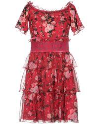 Tadashi Shoji - Short Dresses - Lyst