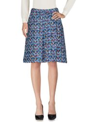ODEEH - Knee Length Skirt - Lyst