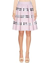 Jourden - Knee Length Skirt - Lyst