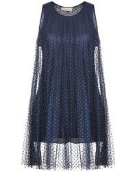 CROCHÈ - Short Dress - Lyst
