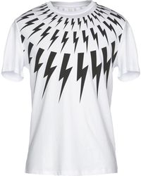 Neil Barrett - Lightning Bolt T-shirt - Lyst