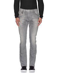 Balmain - Denim Trousers - Lyst