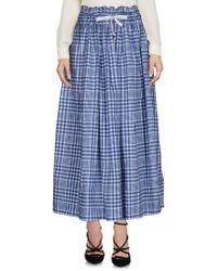 Kor@kor - 3/4 Length Skirt - Lyst