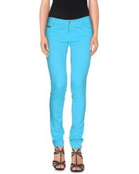 Ean 13 - Denim Trousers - Lyst