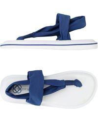 JOYCOLORS - Toe Strap Sandal - Lyst