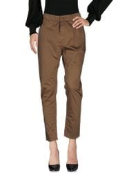 Manila Grace - Casual Trouser - Lyst