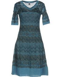 M Missoni - Short Dresses - Lyst