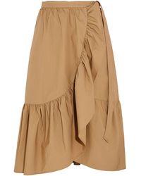 J.Crew - 3/4 Length Skirt - Lyst