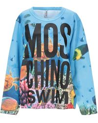 Moschino Sweatshirt - Blau
