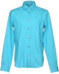 Versace Jeans - Denim Shirts - Lyst
