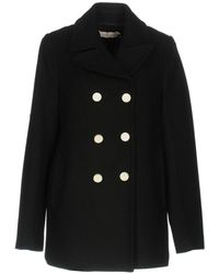 Tory Burch - Double Breasted Coat - Lyst