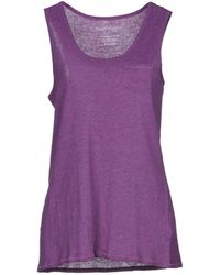 Fine Collection - Tank Top - Lyst