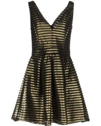 Oh My Love - Plunge Skater Dress By - Lyst