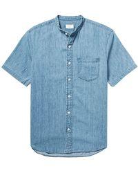 Club Monaco - Denim Shirt - Lyst
