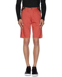 Solid - Bermuda Shorts - Lyst
