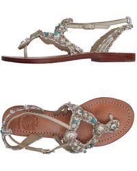 Maliparmi - Toe Strap Sandal - Lyst