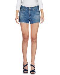 AG Jeans - Denim Shorts - Lyst