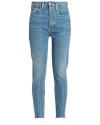 RE/DONE with LEVI'S Denim Pants - Blue