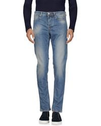 Jaggy - Denim Trousers - Lyst