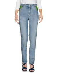 Jeremy Scott - Denim Trousers - Lyst