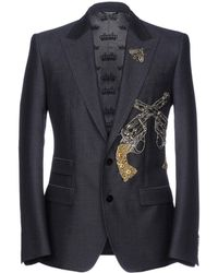Dolce & Gabbana Veste - Bleu