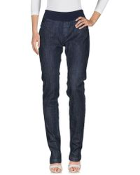 Pietro Brunelli - Denim Trousers - Lyst
